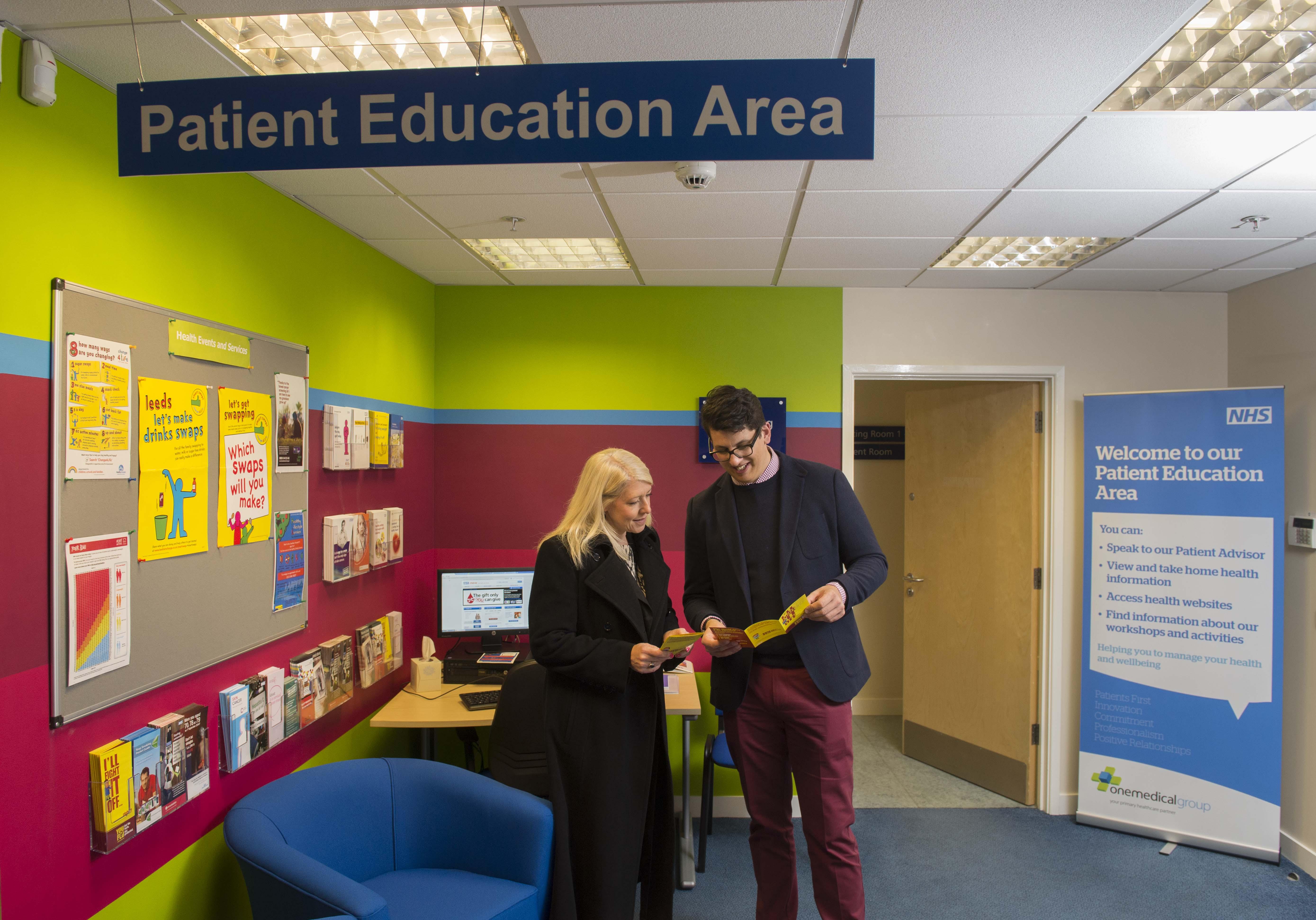 Patient Education area The Light